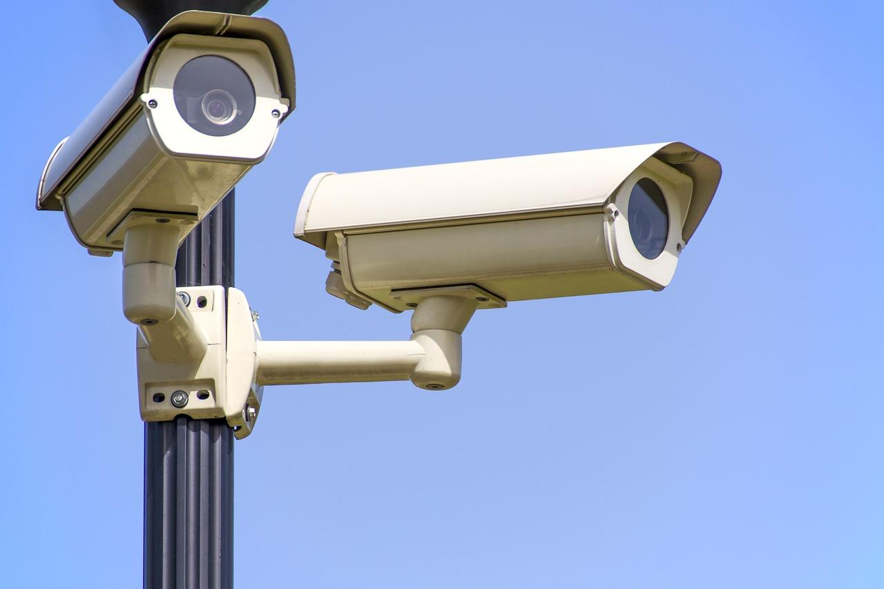 Bezpečnostní kamera jako součást funkčního systému