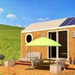 Casa Lokomotif – mobilní dům pro milovníky přírody